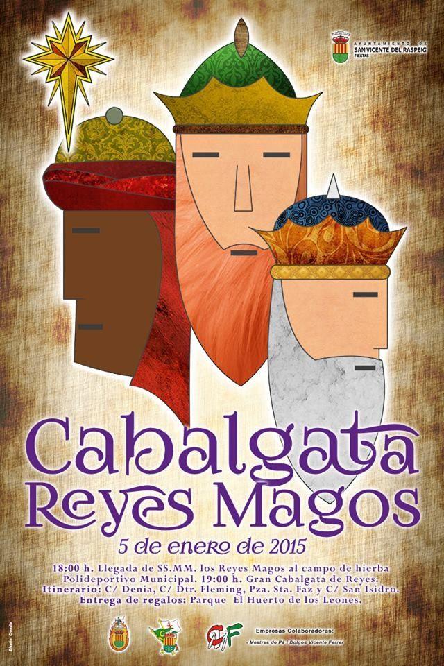Cabalgata de los Reyes Magos en San Vicente del Raspeig
