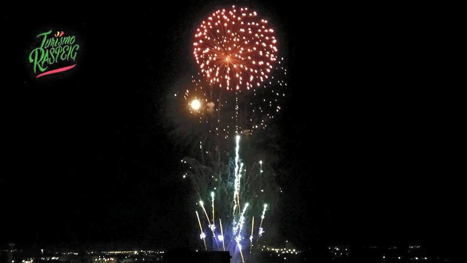 #FiestasSVR Fuegos Artificiales HD 2015