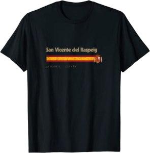 San Vicente del Raspeig Ciudad Vintage Bandera España Camiseta