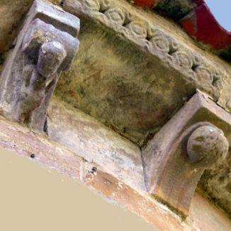 Canecillos, Santa María de Xuncu