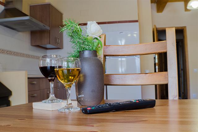 Salón-cocina-comedor Casa El Centro