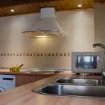 Cocina-comedor Casa Rural El Cuatro - Beceite