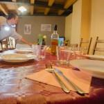 Salon-Cocina-Comedor 2ª planta Casa El Centro con mesa adicional - Beceite