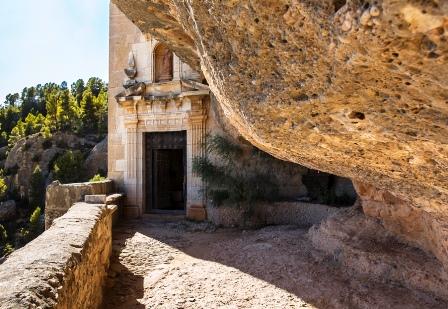 El Santuario de la Virgen de la Balma (Castellón)