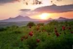 Самые красивые места на Кавказе: закат на горе Лысой, Ставропольский край