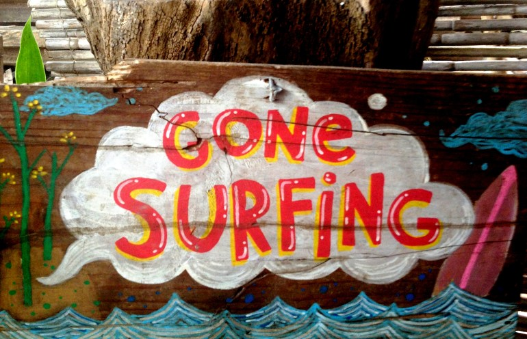 Gone Surfing! (The other kind of Surf) - Aurora Province | Turista Boy