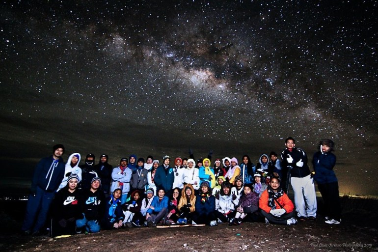 Team Pinikpikan with the Milky Way!