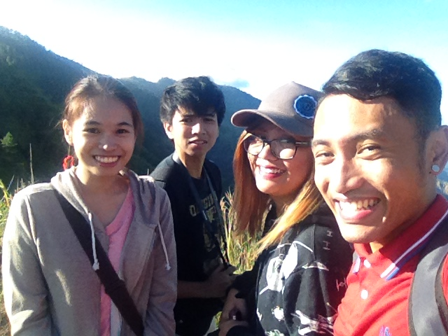 The Hugot Queen, The Pogi, The Fashionista, and Turista Boy in Mount Ulap