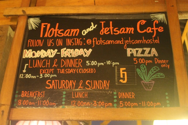 F&J's Menu Board - La Union