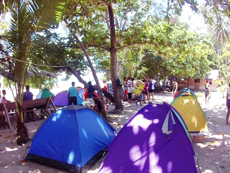 Tent City at Pansacola Resort - Cagbalete Island