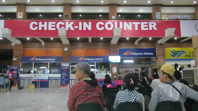 Check-in Counters in ZAM - Zamboanga City