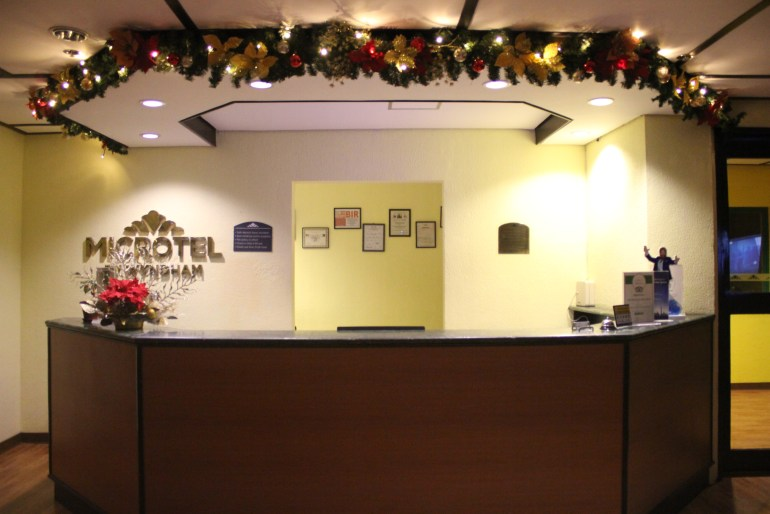 Microtel Cabanatuan's Front Desk