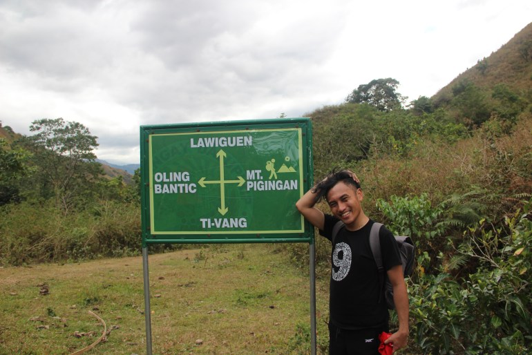 Signage to Mount Pigingan! | Turista Boy