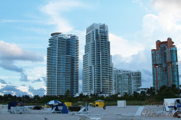 South Pointe, playa de Miami Beach
