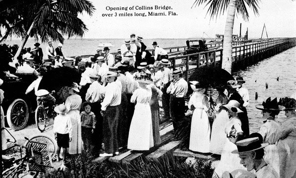 Collins Bridge, Miami. Foto: Florida Photographic Collection