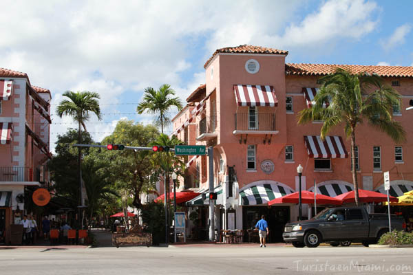 Española Way, South Beach