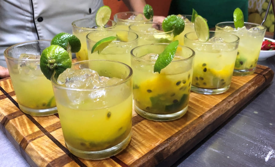 Cook in Rio: caipirinha