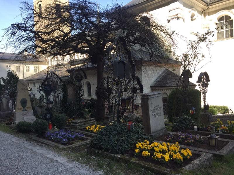 Roteiro de 3 dias em Salzburgo: Cemitério de São Pedro.