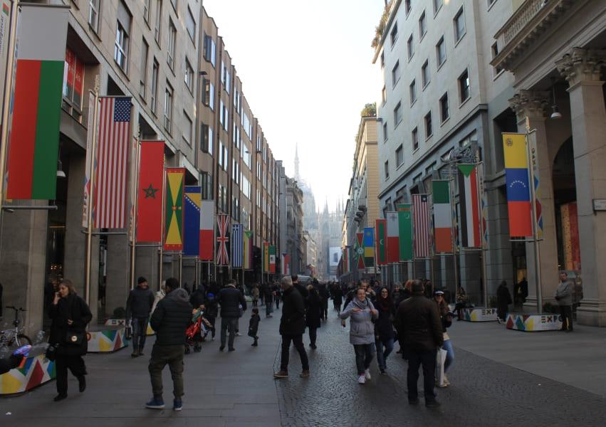Roteiro de 3 dias em Milão: Corso Buenos Aires.
