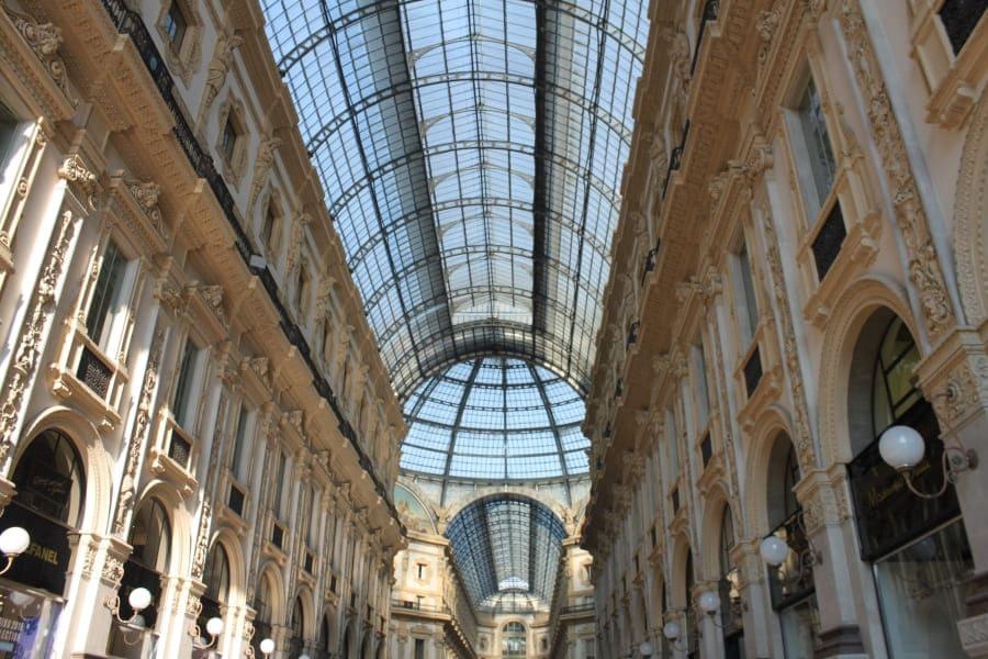 Roteiro de 3 dias em Milão: Galeria Vittorio Emanuelle