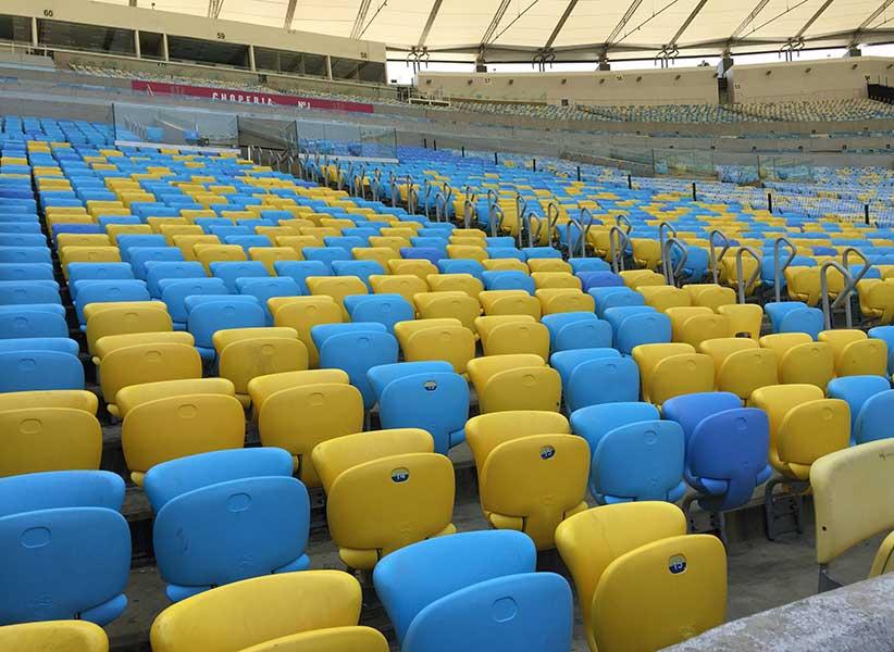 Tour no Maracanã: arquibancadas do estádio