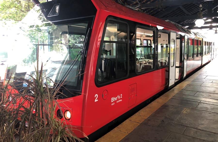 Quarta geração do Trem do Corcovado.