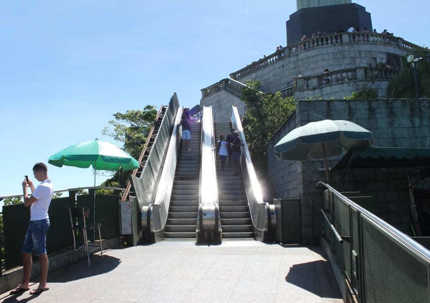 Escalator to Christ the Redeemer
