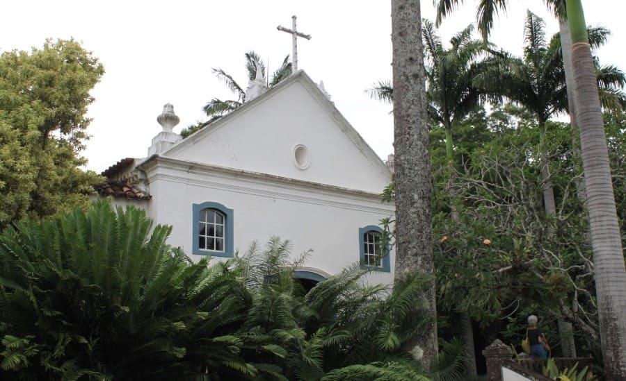 Sítio Burle Marx: Capela de Santo Antonio da Bica.