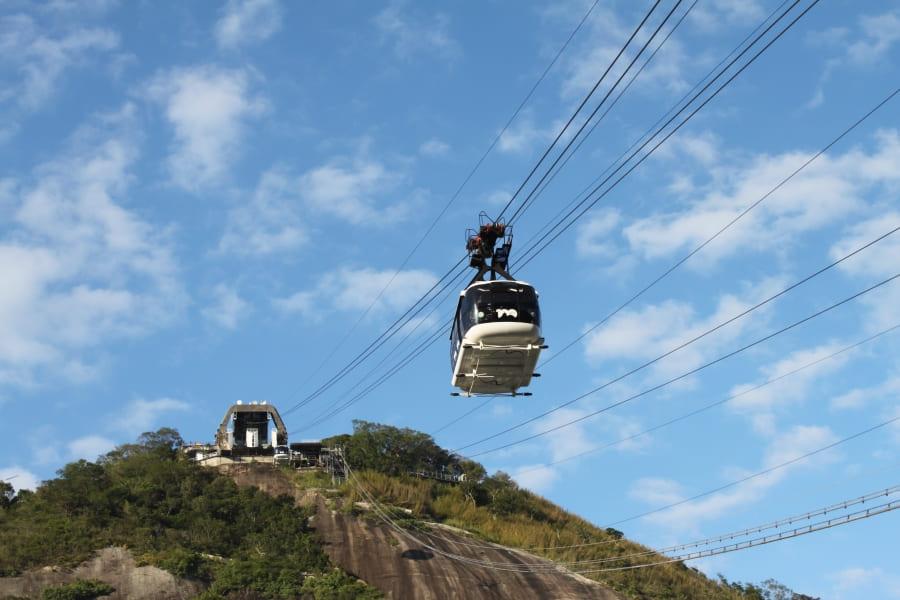 City Tour no Rio de Janeiro: Bondinho Pão de Açúcar.