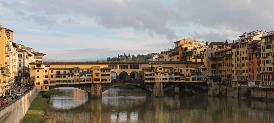 Ponte Vecchio: um dos cartões-postais de Florença.