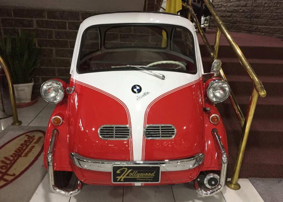 BMW Isetta 3000 no Hollywood Dream Cars de Gramado.