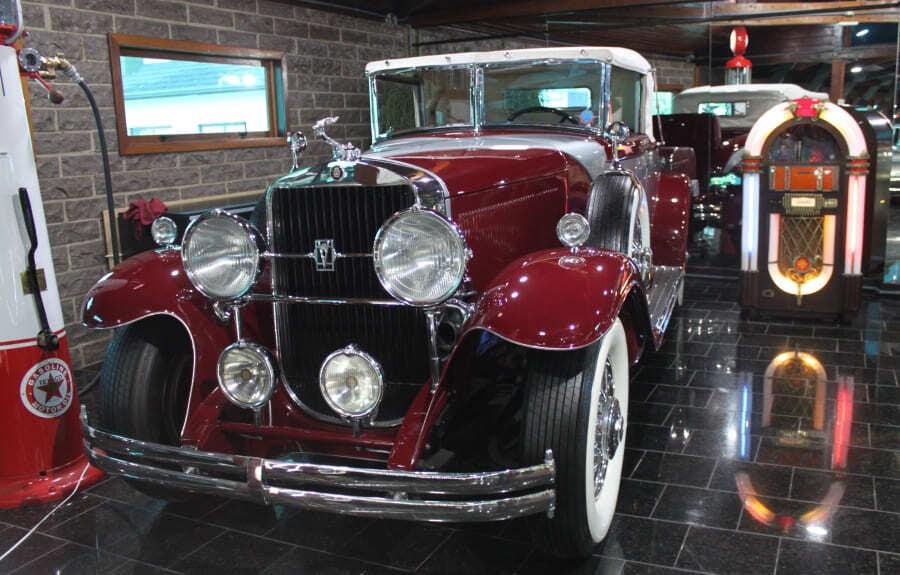 Couper Cabriolet 1930 do Hollywood Dream Cars de Gramado.
