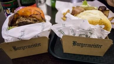 Hambúrguer no BurgerMeister