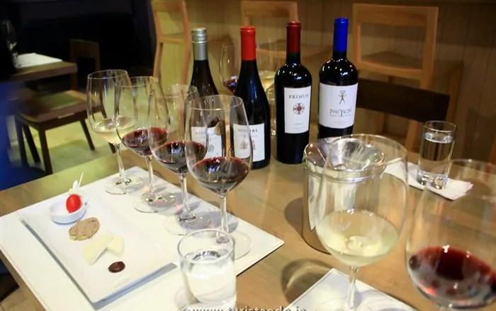 Degustação de vinho Casona Veramonte Chile