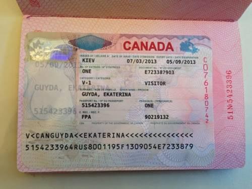 passaporte com visto