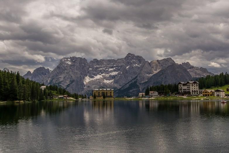 Alpes italianos e as Dolomitas