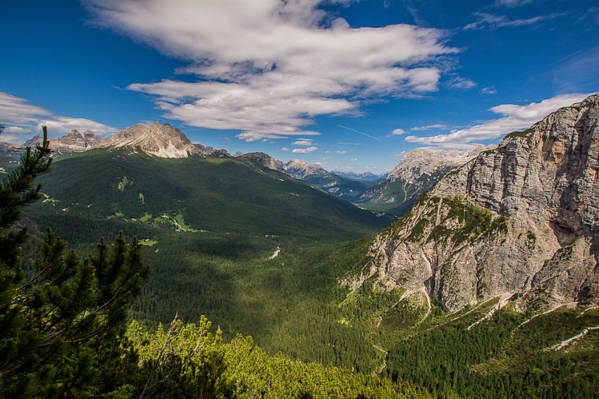 Alpes italianos e as Dolomitas