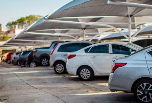 estacionamento funcional e barato no Aeroporto de Confins