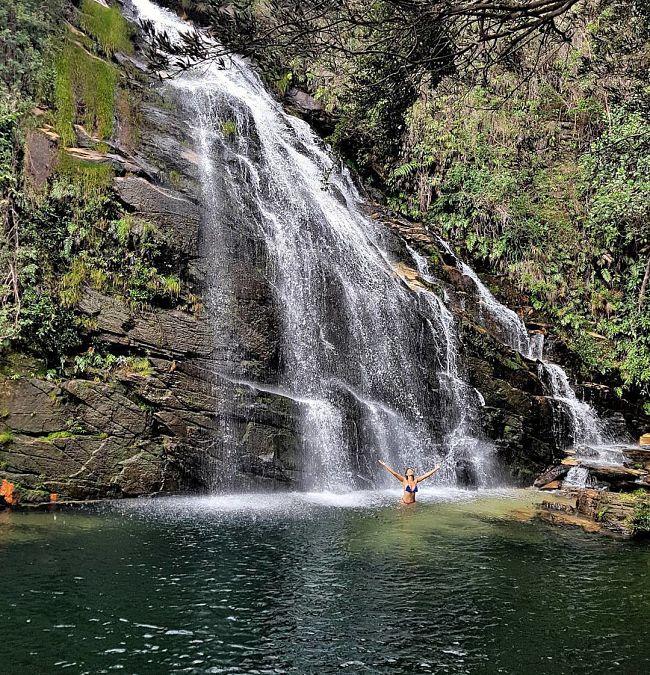 Cachoeiras na Serra do Cipó.