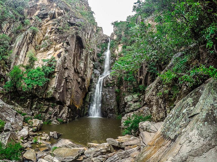 Cachoeiras na Serra do Cipó