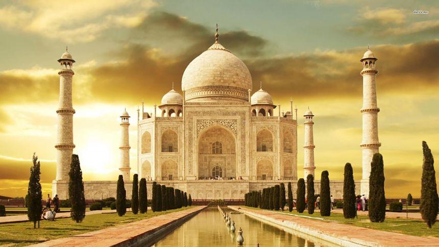 Como chegar no Taj Mahal