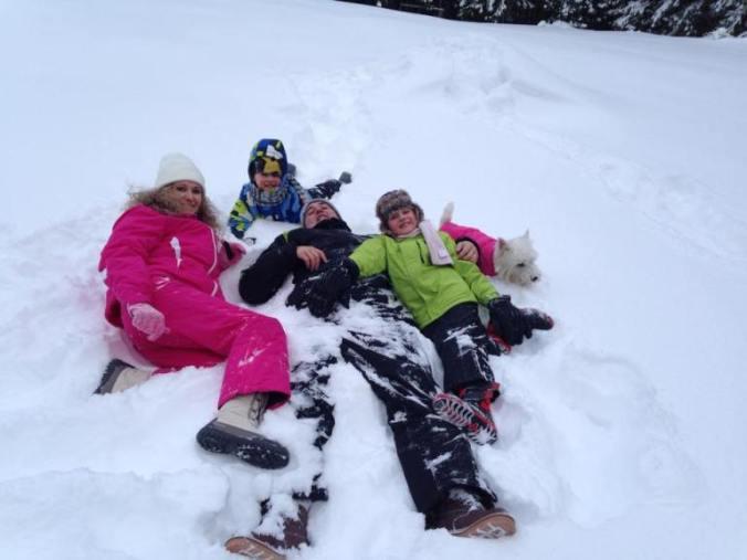 Arieseni, Sovata si Bucin - snow