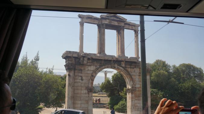 Atena - hadrian arch