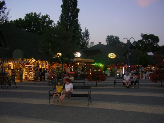 Balaton - by night
