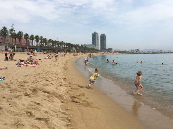 Barcelona - barceloneta beach