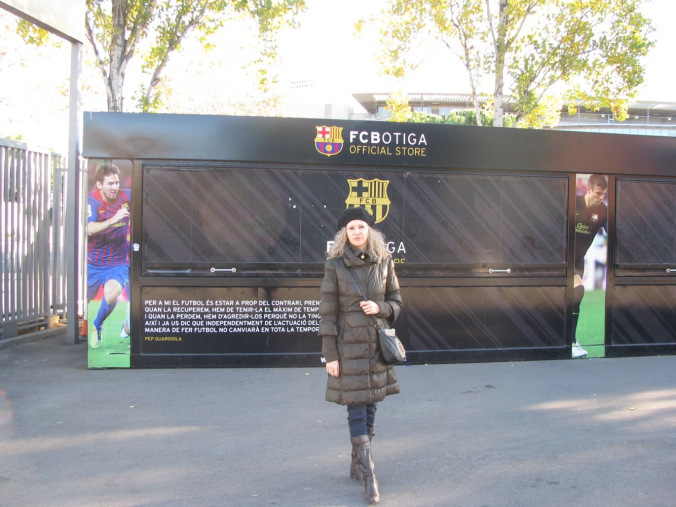 Barcelona - camp nou entrance