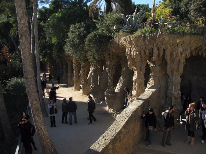 Barcelona - guell park2