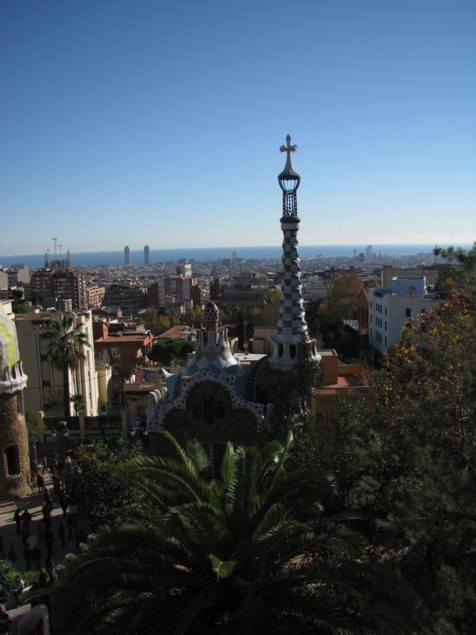 Barcelona - guell park3