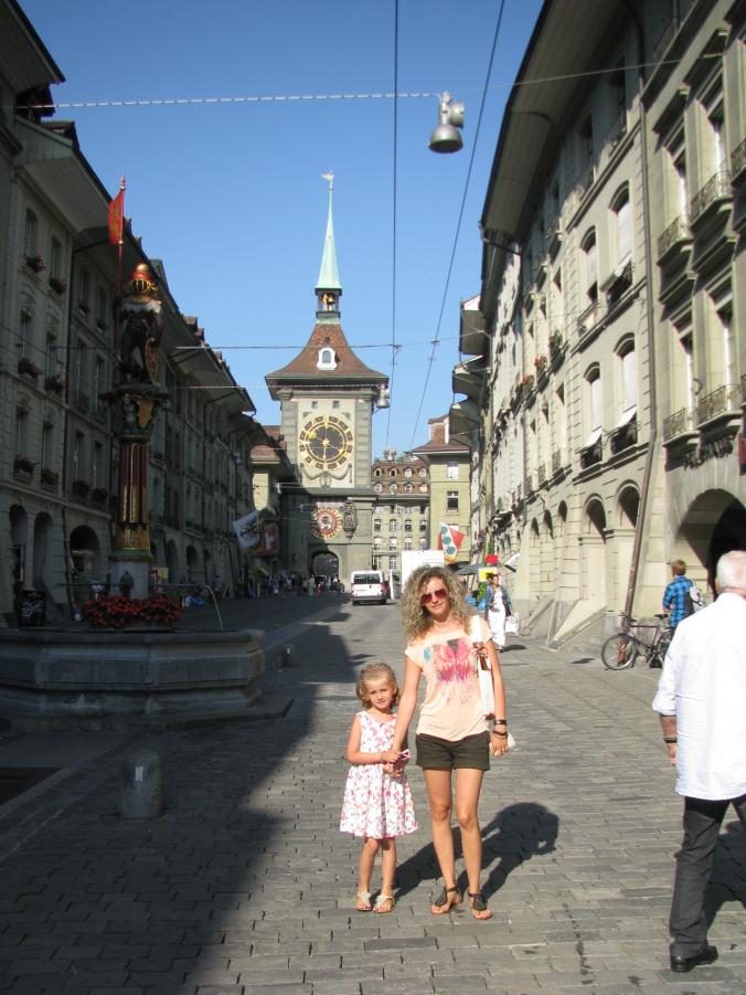 Berna - tower clock