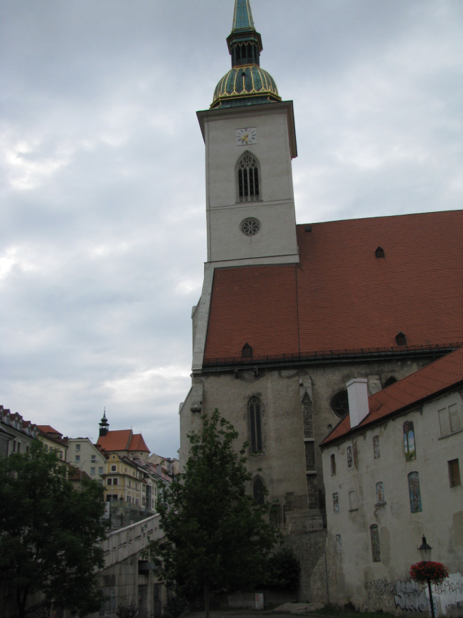 Bratislava - st martin cathedral